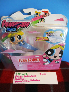 Spin Master Powerpuff Girls Speed Line Vehicle Bubbles