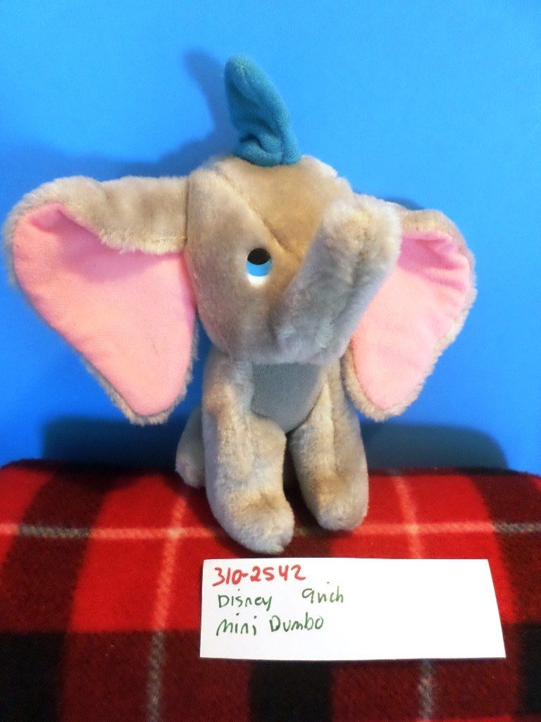 Disney Walt Disney Productions Animated Classic Film Dumbo Plush