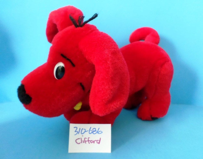 Scholastic Clifford the Big Red Dog with Bendable Legs 2000 Plush