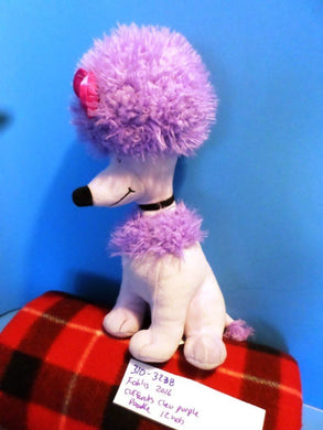 Kohl's Clifford's Cleo Purple Poodle 2016 Plush