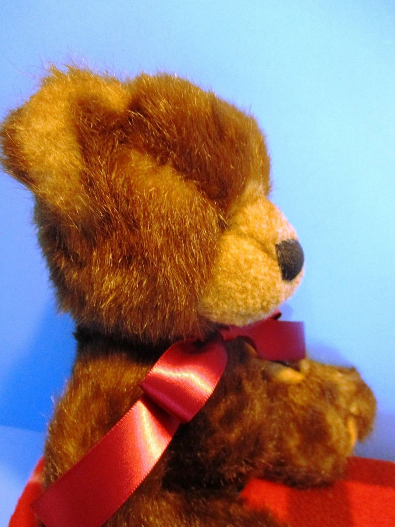 Russ Brandwell Brown Teddy Bear Beanbag Plush