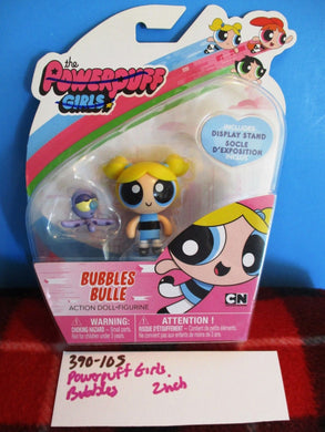 Spin Master Powerpuff Girls Action Doll Figurine Bubbles and Octopus