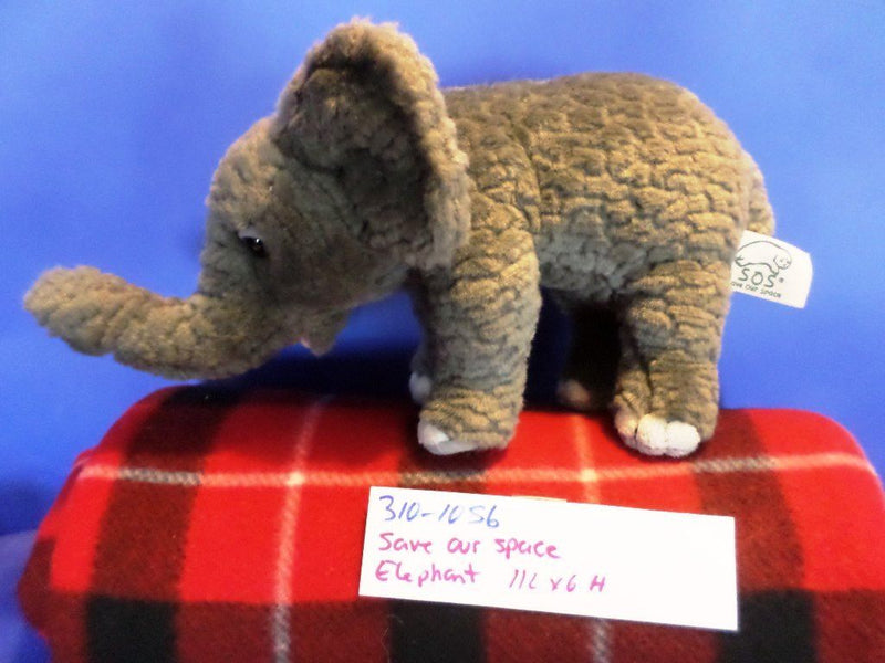 Save Our Space SOS Elephant 2003 Plush