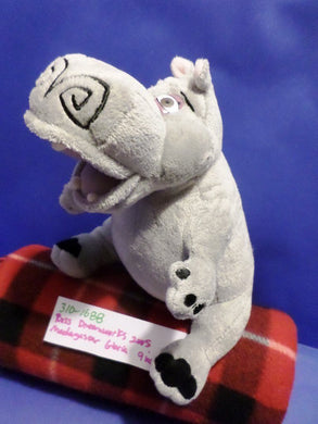 Dreamworks Madagascar Gloria the Hippo 2005 Plush