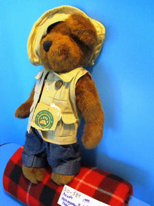 Boyd's Bears Hemingway K. Grizzman Fishing Bear 1999 Plush