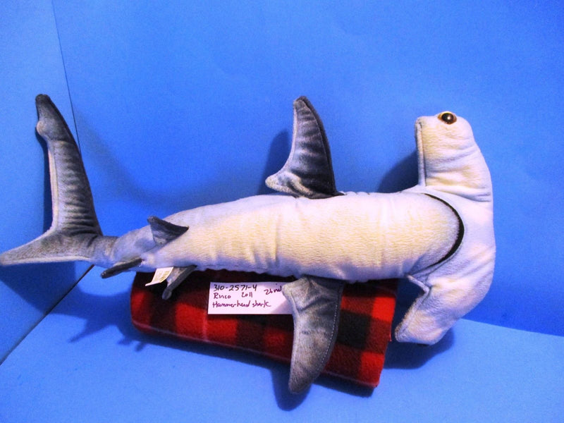 Rinco Blue Hammerhead Shark 2011 Plush