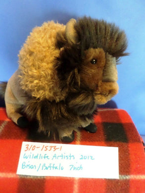 Wildlife Artists Bison/Buffalo 2012 Plush
