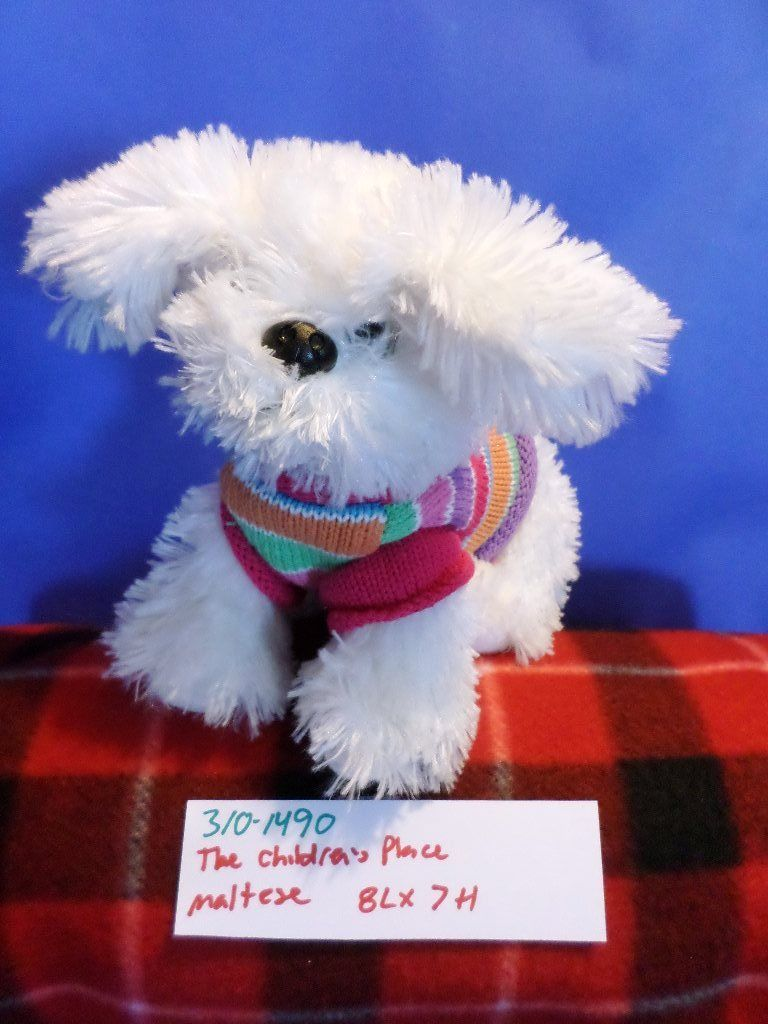 The Children's Place Bichon Maltese Puppy Plush