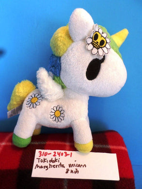 Tokidoki Margherita the White Daisey Unicorn Plush