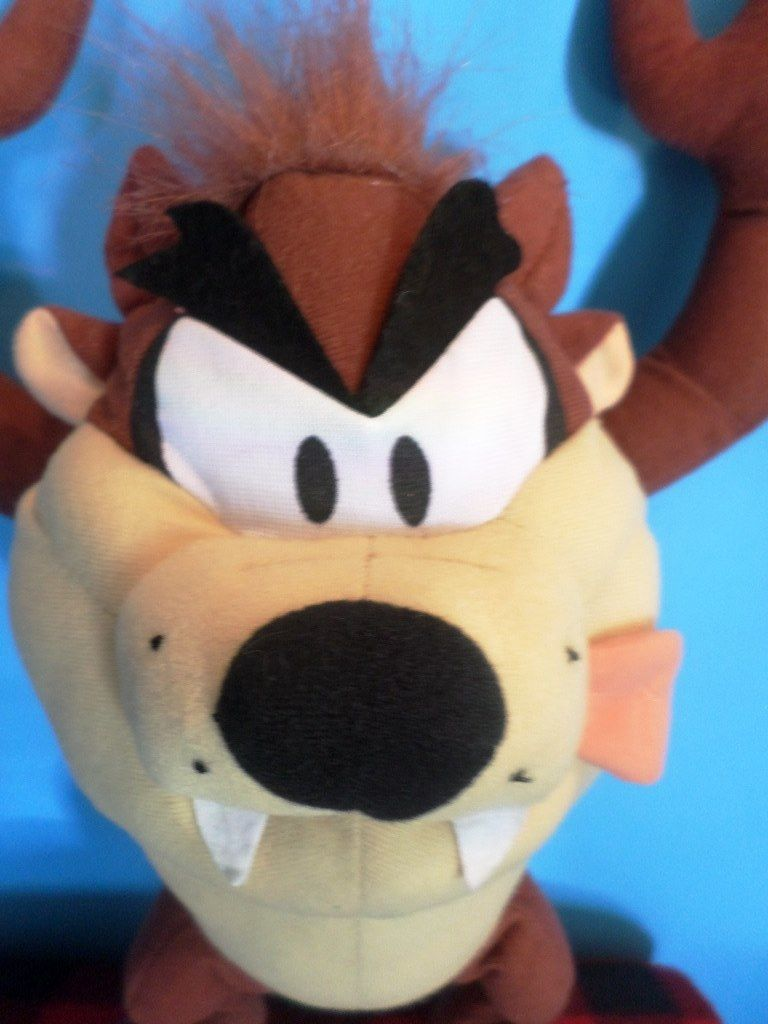 Toy Factory Looney Tunes Taz Plush
