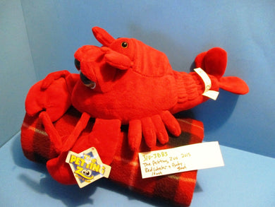 The Petting Zoo Big Eyed Lobster and Baby 2015 plush(310-3883)