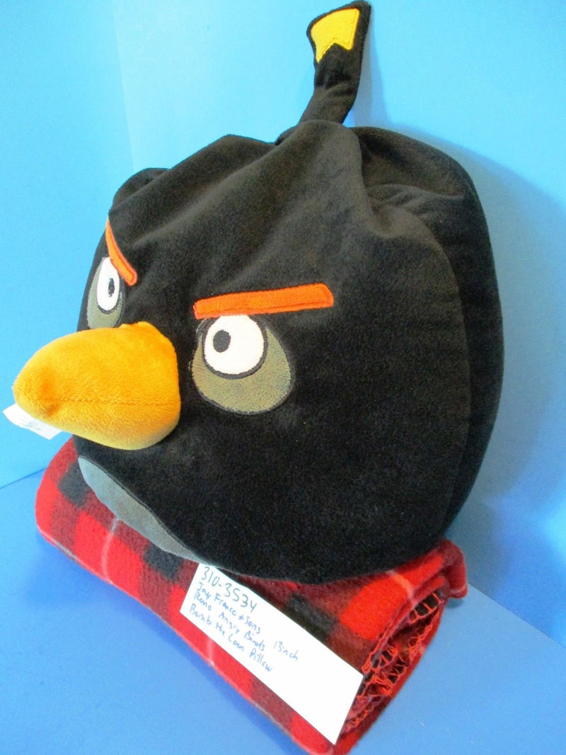 Jay Franco and Sons Angry Birds Bomb the Loon Pillow Plush