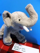 Gund Rainforest Cafe African Elephant Beanbag Plush