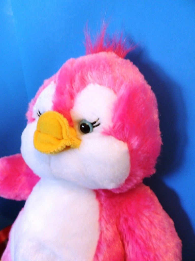 Build-A-Bear Pinky the Penguin Plush