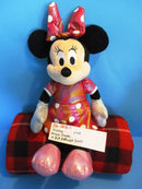 Ty Sparkle Disney Minnie Mouse Pink Reflective Dress 2013 Beanbag Plush