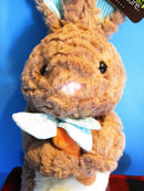 Animal Adventure Brown and Beige Bunny Rabbit With Carrot 2018 Plush