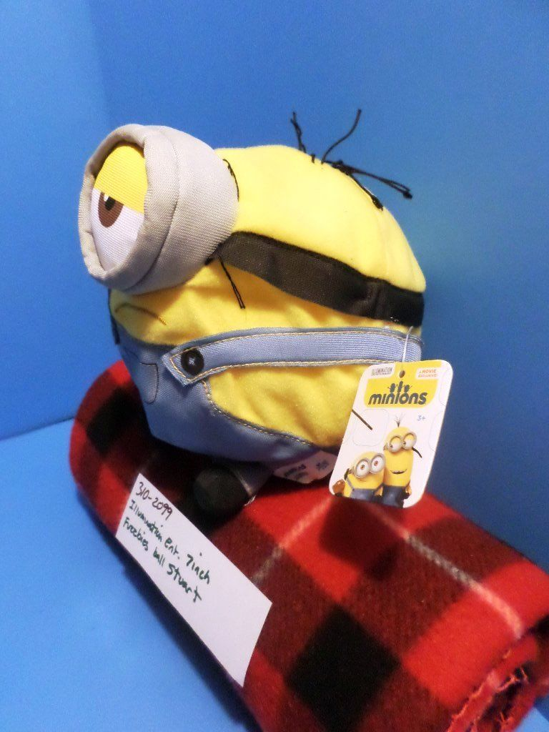 Imperial Toy Fuzzbies Ball Minion Stuart 2015 Plush