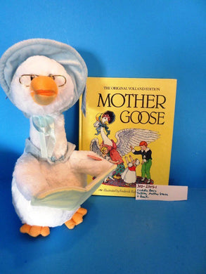 Cuddle Barn Talking Mother Goose and Book(310-2305-1)