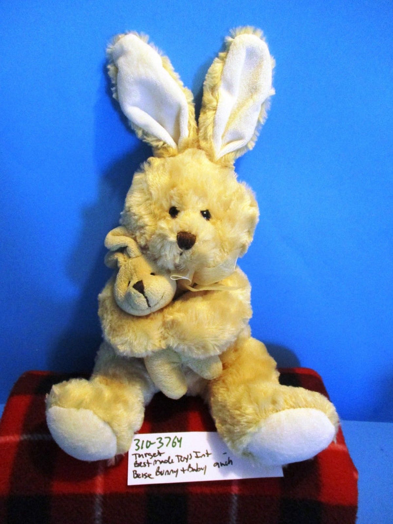 Best Made Toys Target Beige Bunny Rabbit and Baby Plush