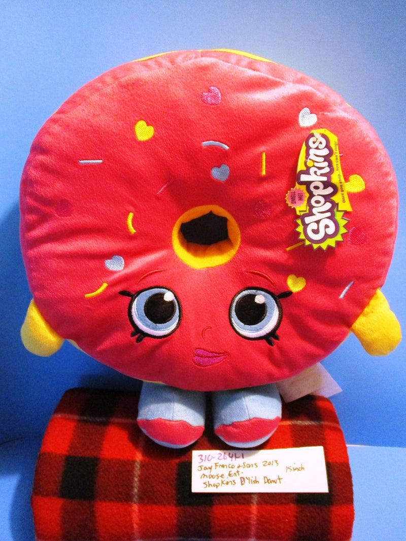 Jay Franco and Sons Moose Shopkins D'Lish Donut 2013 Scented Plush