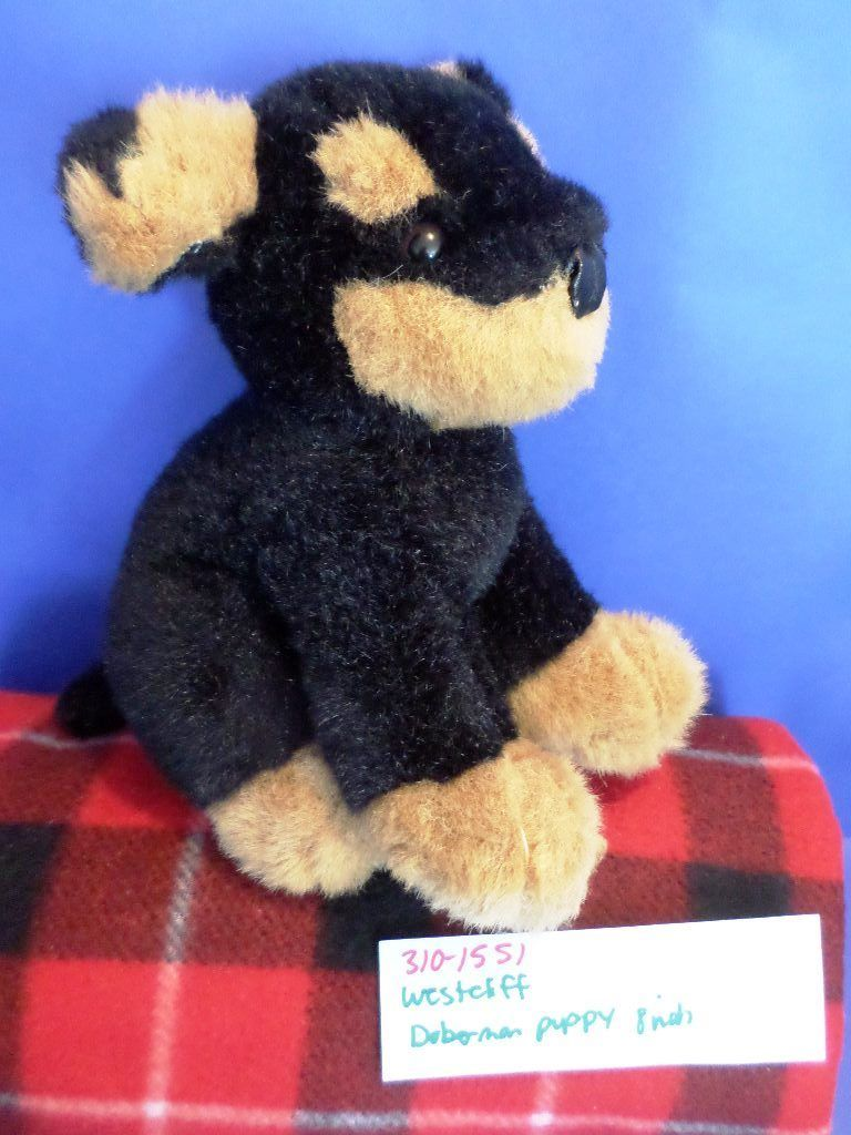 Westcliff Collection Doberman Puppy Dog Plush