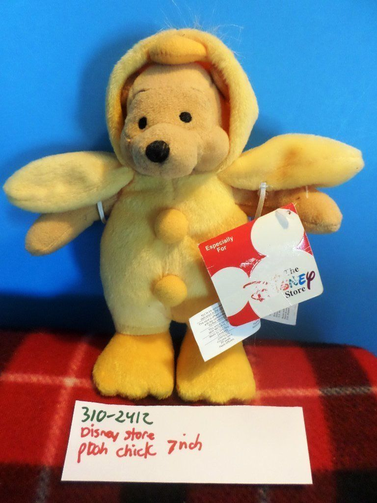 Disney Store Pooh Chick Plush