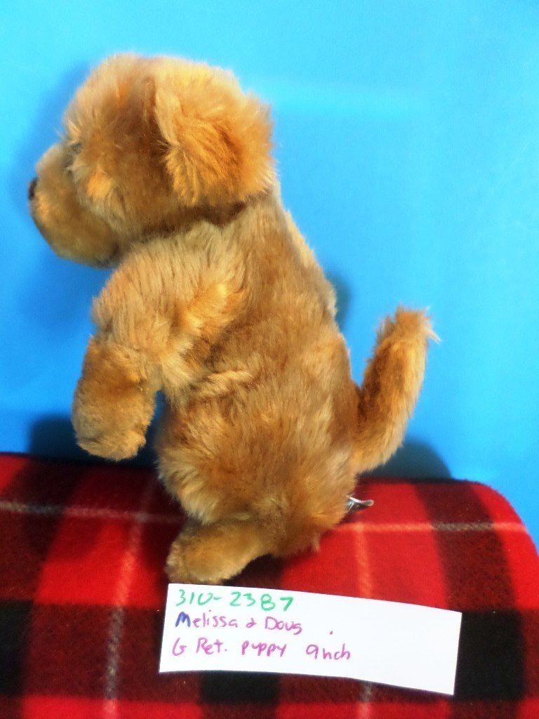 Melissa & Doug Golden Retriever Puppy Plush