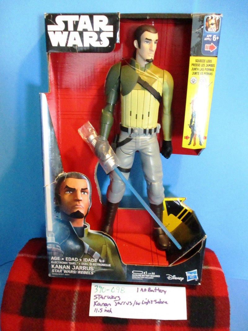 Hasbro Disney Star Wars Rebels Electronic Duel Kanan Jarrus 2016 Action Figure