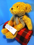 Ganz Linus the Tan Teddy Bear 2001 Beanbag Plush