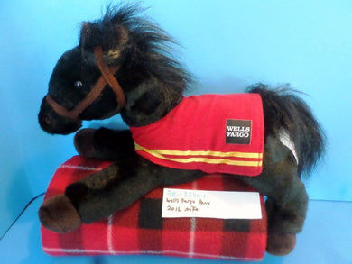 Wells Fargo Black Pony Mike 2016 plush(310-3240-1)