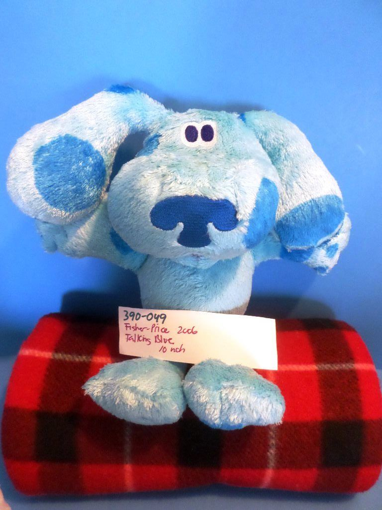 Fisher Price Talking Blue's Clues 2006 Plush