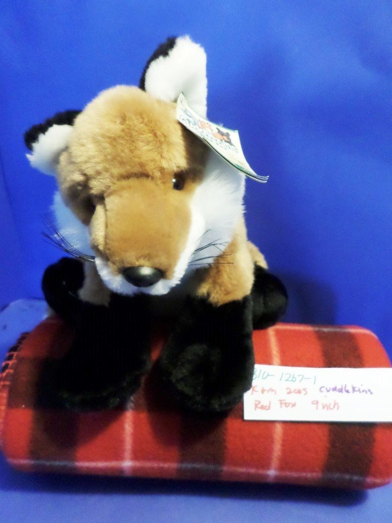 K & M Red Fox 2005 Beanbag Plush