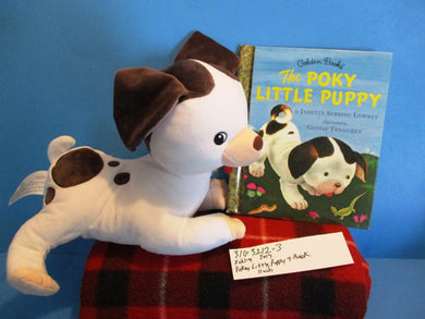 Kohl's The Pokey Little Puppy plush and Little Golden Book(310-3212-3)
