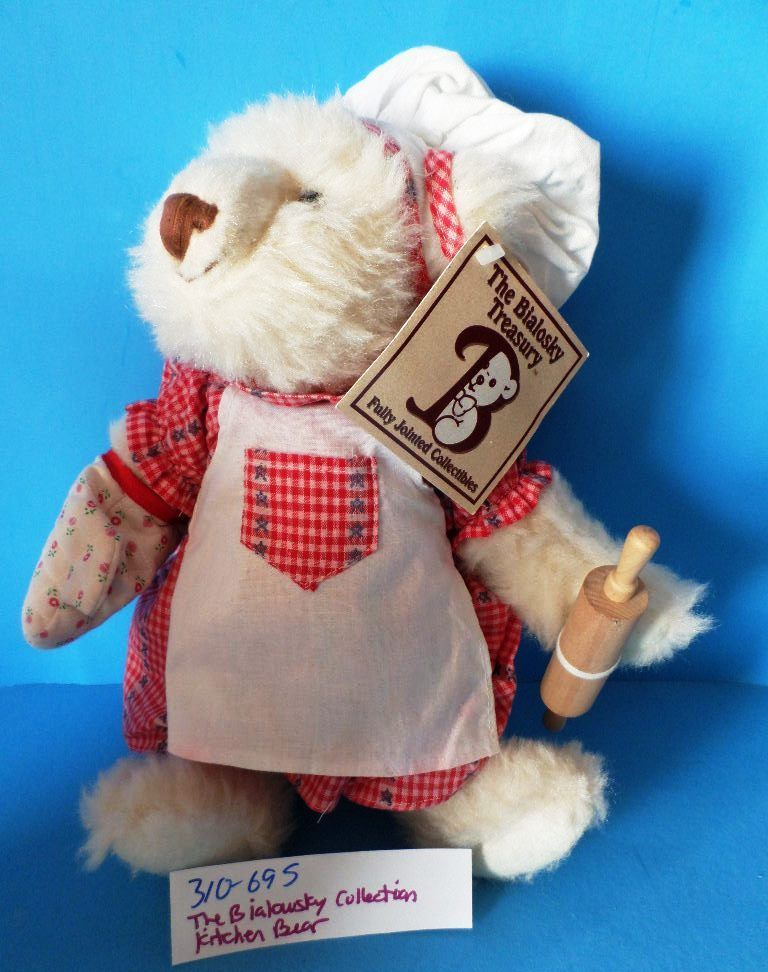 Bialosky Collection Baker Kitchen Bear 1997 Plush
