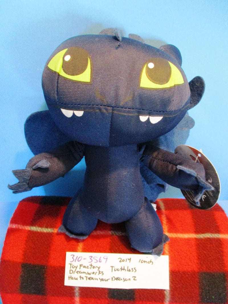 Toy Factory DreamWorks How To Train Your Dragon 2 Toothless 2014 Plush