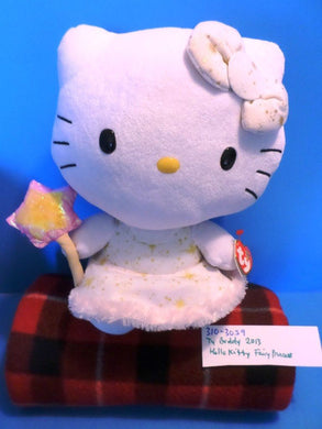 Ty Buddy Hello Kitty Fairy Princess 2013 Plush