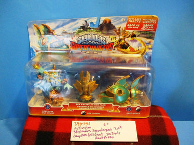 Activision Skylanders Superchargers Deep Dive Gill Grunt 3 action figures(390-151)
