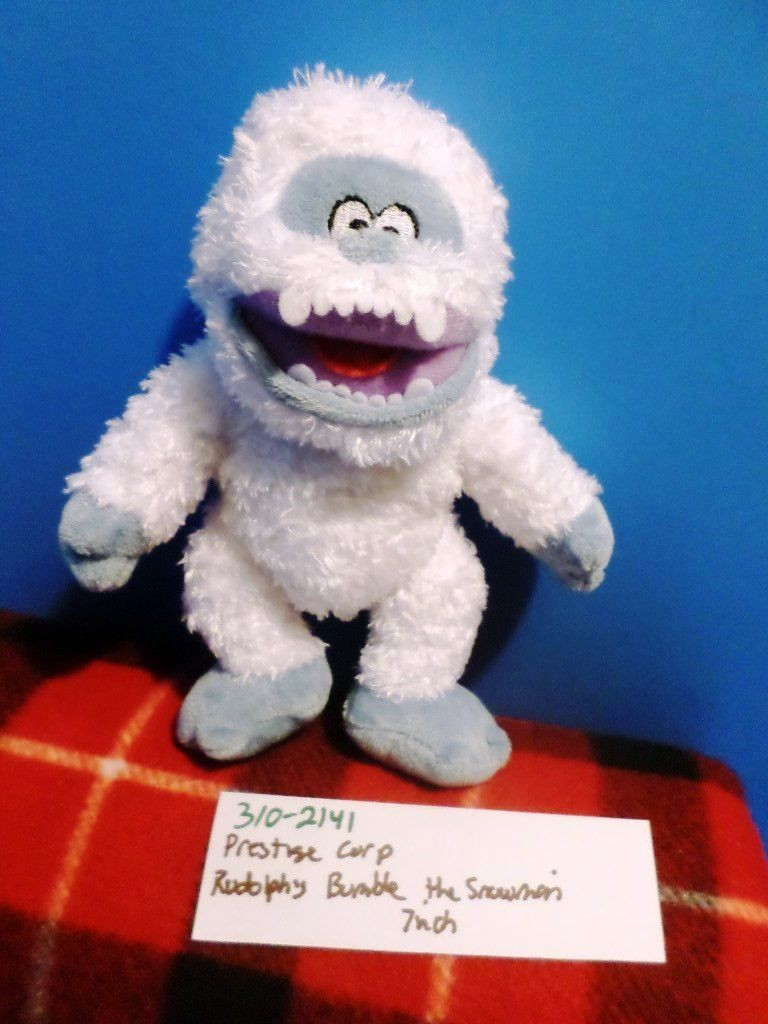 Prestige Rudolph Bumble the Abominable Snowman 2013 Beanbag Plush