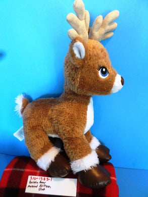 Build-a-Bear Musical Reindeer Blitzen Plush