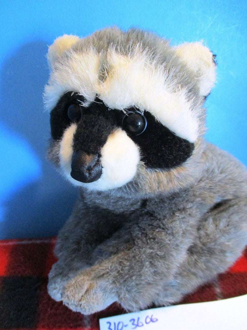 Aurora Nature Babies Raccoon Beanbag Plush