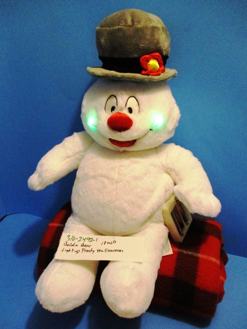 Build-A-Bear Light-Up Frosty the Snowman Plush
