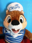 Disney Cruise Line Chip and Dale Sailor Chip Beanbag Plush
