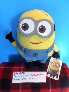 The Toy Factory Despicable Me Minion Dave Plush