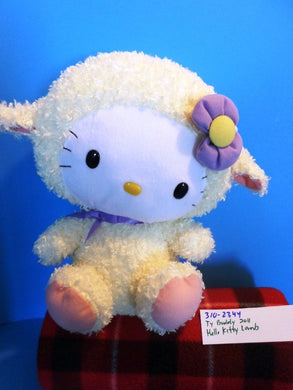 Ty Beanie Buddy Hello Kitty Lamb 2011 Plush