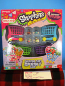 Pressman 2013 Shopkins Shopping Cart Sprint Game