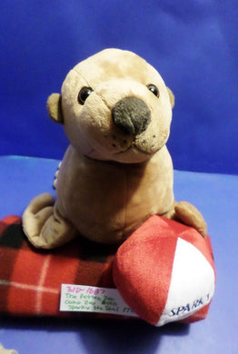 The Petting Zoo Como Zoo Sparky the Seal 2010 plush(310-1687)