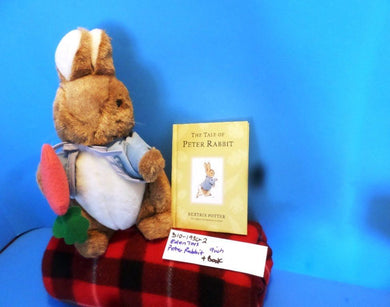 Eden Toys Peter Rabbit plush and book(310-1930-2)