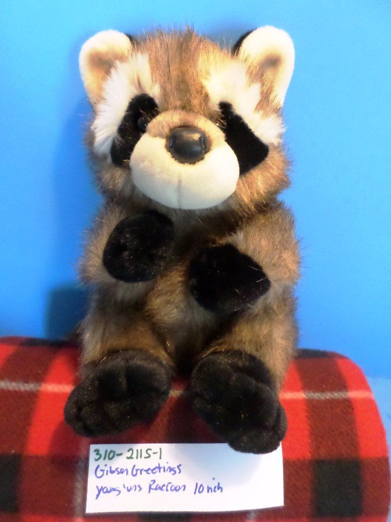 Gibson Greetings Forest Young'uns Raccoon Plush