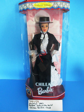 Mattel Barbie Collecter Edition Dolls Of the World Chilean Barbie 1997