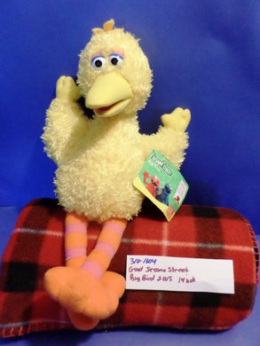 Gund Sesame Street Big Bird beanbag plush(310-1604)